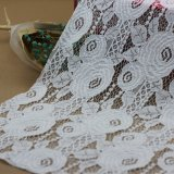 衣服および服装のための刺繍の綿の落下版のレースファブリック