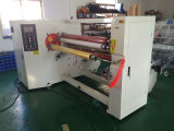 Adhesive Tape와 Paper를 위한 High Speed를 가진 두 배 Shafts Rewinding Machine