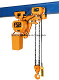 Electric Crawlの3ton 2/1 2速度Electric Chain Hoist