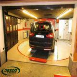 Mini no elevador subterrâneo do carro do auto veículo eléctrico do assoalho