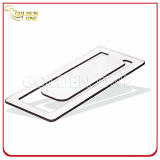 Custom Fancy Design Square Shape Stainless Steel Bookmark