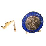 新しい金によってめっきされるEMSの硬貨