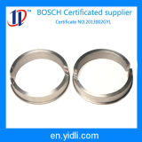 De Cirkel van het aluminium, de Ringen van het Metaal met Soorten Specificatie, Rood Blok