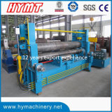 Machine à cintrer hydraulique de plaque en acier de W11s-12X4000 Unviersal