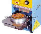 Máquina manual para la venta, sellador del lacre de la taza de la nueva condición de la taza para el té de la burbuja con acero inoxidable