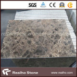 Brown Dark Emperador Marble Composite Stone Panel для Wall Cladding