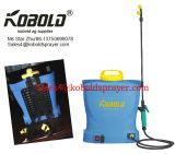 16L再充電可能な電気スプレーヤーのナップザック電池のスプレーヤー