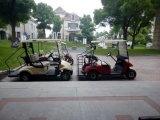 Kids PlateのセリウムApproved 2 Passengers Electric Golf Caddy Cart