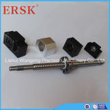 Double Nut와 Brackets를 가진 Ersk Brand Ball Screw