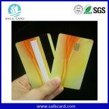 Espaço em branco do PVC/cartão de tira magnética Printable branco