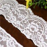 Ajustes franceses elásticos del cordón del telar jacquar para la ropa interior y la ropa interior