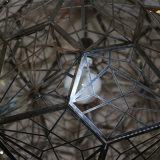 유럽 호텔 장식적인 다각형 스테인리스 둥근 펀던트 램프