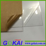 Feuille de plexiglass avec la couleur claire de Transparant
