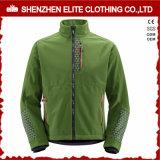 녹색 폴리에스테 나일론 성과 Softshell 재킷