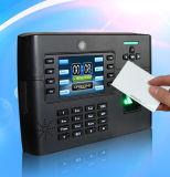 Lecteur de cartes d'identification et dispositif de contrôle d'accès d'empreinte digitale avec l'appareil-photo interne (TFT900/ID)