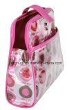PVC Fashion Cute Cosmetic Bag mit Two Compartments