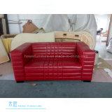 Самомоднейшая живущий установленная софа салона кожи комнаты (HW-5449S)