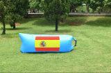 O sofá inflável rápido do saco de ar do sono do lugar frequentado de nylon com bolso, Laybag personalizou para o acampamento de viagem