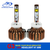 熱いSell 30W 3000lm Golden H1 LED Car Headlight