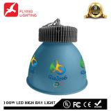 100W nueva alta bahía del diseño LED para el mercado de las compras del almacén del estadio de la gimnasia de la casa