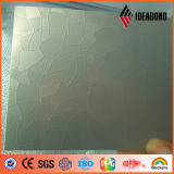 Materiale composito di Embossingaluminum dell'onda di serie metallica d'argento di tocco