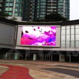 SMD a todo color P10 LED al aire libre que hace publicidad de la fabricación de la pantalla