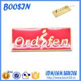 Brooch su ordinazione poco costoso di marchio del metallo dell'oro della fabbrica per il commercio all'ingrosso