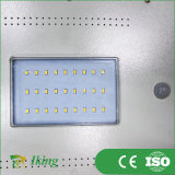 リチウム電池が付いているセリウムによって証明されるLEDの太陽街灯