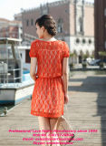 Самое последнее Design Hot Selling Warehouse Lace Fabric для Garments и Dress