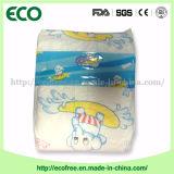 Ein Grad-bequemes Tuch mögen Backsheet +PE Kegelzapfen-Baby-Windeln