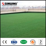 PPE Synthetic Grass de W-Shape do relvado para o lugar de Leisure