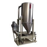 Peneira da vibração com o funil de armazenamento pelo ventilador de ar