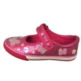 2016 sapatilhas ocasionais coloridas da sapata dos miúdos do PVC Outsole dos planos do verão/mola