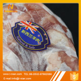 Escritura de la etiqueta congelada resistente de la carne de vaca y del cordero de la baja temperatura