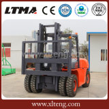 Nuevos nombres de la carretilla elevadora de 5 toneladas de Ltma con los neumáticos delanteros dobles