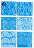 Tessuto non elastico del merletto per vestiti/indumento/pattini/sacchetto/caso M0096 (larghezza: 8cm)