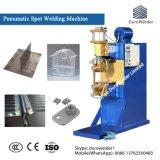 압축 공기를 넣은 직류 전기를 통한 강철판 투상 점용접 기계