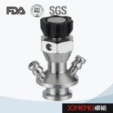 Válvula aséptica de la muestra del grado sanitario del acero inoxidable (JN-SPV1003)