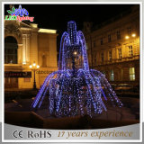 Luzes do motivo da fonte do diodo emissor de luz do Natal para a decoração da alameda de compra