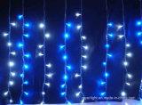 크리스마스 파티 훈장 단계 LED 커튼 빛