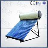 Système de chauffage à eau solaire pressurisé à chaleur de 200 litres
