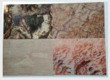 Tuile de marbre artificielle de panneau/mur pour la décoration de mur