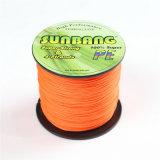 Un colore fluorescente dei 4 fili d'acqua dolce e forte riga di pesca della treccia dell'acqua salata riga principale
