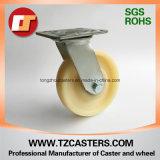 Schwenker-Fußrolle Hochleistungs mit Nylonrad 200*50