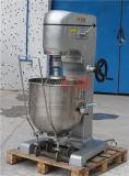 Eje de alta velocidad del doble del acero inoxidable del alimento del homogeneizador cocina planetaria China (ZMD-80) del mezclador de 80 litros