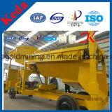 Машина экрана бутары золота оборудования Keda питьевая
