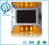 Borne solaire en plastique de revêtement de la chaussée