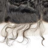 Frontal umano 100% del merletto dei capelli di Remy del nuovo Virgin in profondità riccio di stile con i capelli del bambino