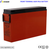 Fornecedor terminal dianteiro da bateria 12V100ah para projetos do governo