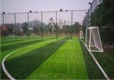 grama artificial durável do futebol da altura de 50mm